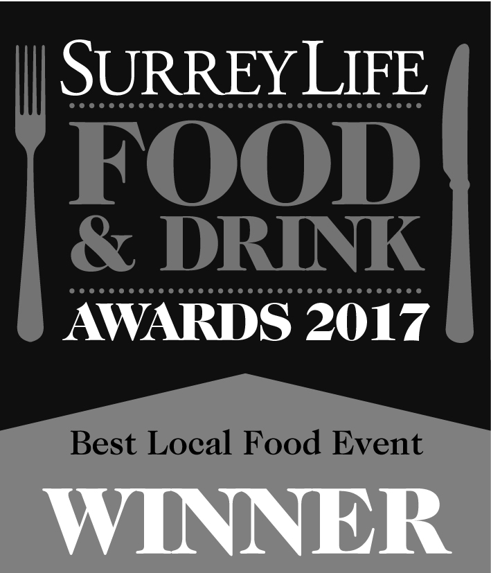 Surrey Life Food & Drink Awards 2017 - Winner, Best Local Food Event